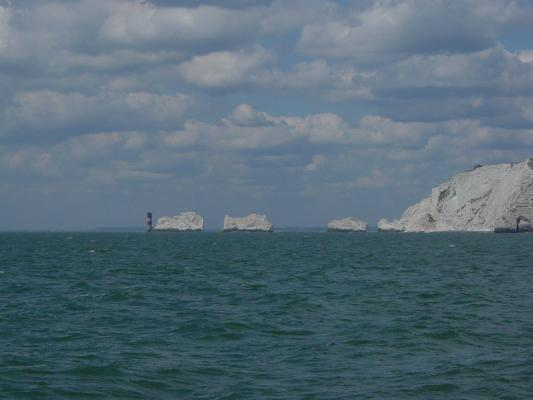 The Needles - Returning from Freshwater